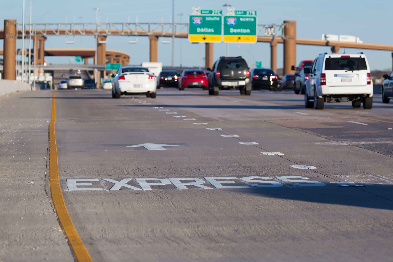LBJ highway in Dallas, Texas - Ferrovial
