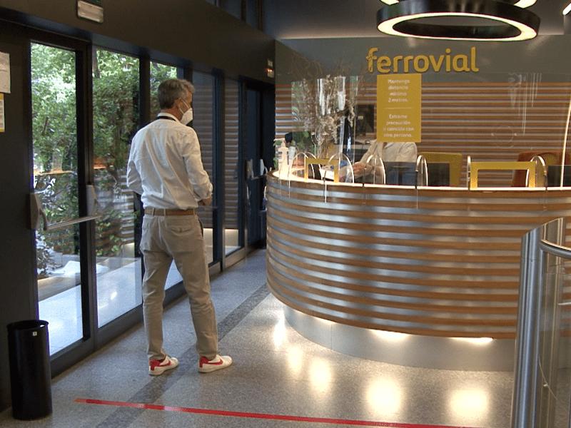 Ferrovial, certifica con AENOR sus protocolos frente al COVID-19 para su sede central en Madrid
